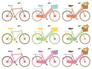 キッズ自転車の販売メーカーとサイズ展開