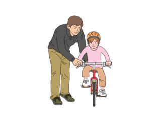3時間で乗れる!子供の自転車練習法