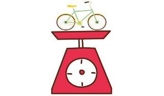 自転車の重さ