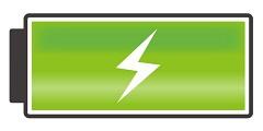 バッテリー満充電
