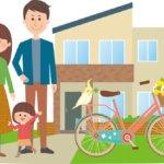 家庭用自転車置き場